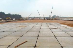 Budowa placu zpłyt drogowych - Elektrownia Kozienice