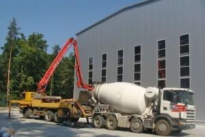 Budowa hali produkcyjnej wNowej Dębie