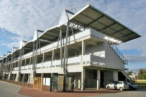 Budowa stadionu sportowego wTarnobrzegu