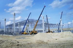 Budowa hali magazynowej wStalowej Woli